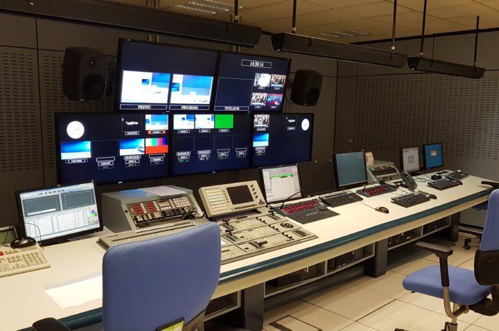 Control de realización RTVE Canarias